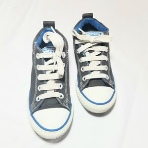 Converse All Star  Boys Grey and Blue